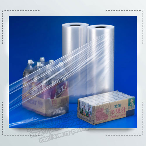PE shrink film for bottle packing