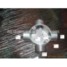 fundición a presión de aluminio de piezas de tubos de alambre
