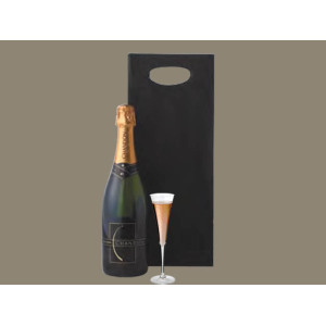 Die Cut Handle paper champagne bolsa