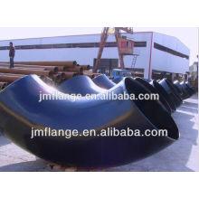 Gost tubo de acero al carbono accesorios de tubería de codo galvanizado
