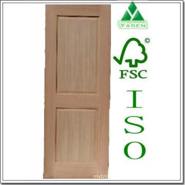 Swing Hemlock 2 Square Panel Wood Door