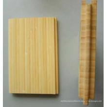 Suelo de bambú vertical natural barato de alta calidad