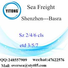Shenzhen Port LCL konsolidering till Basra