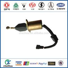 Dongfeng pieza de recambio 37Z36-56010-A C3977620 solenoide de parada de motor diesel