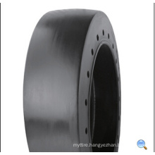 Industral Solid Tyre with Best Quality, 305/76-254 Port, Forklift Tyres