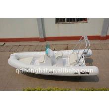 RIB580 de CE sport bateaux gonflables de luxe yacht 60cv hors-bord moteur