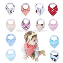 Drooling and Teething Gift Set For Girls Jewel Set baby bandana drool bibs