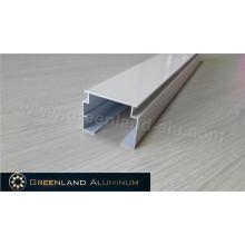 Alumínio Vertical Blinds Head Rail Pó Revestimento Branco High Track com 33 milímetros
