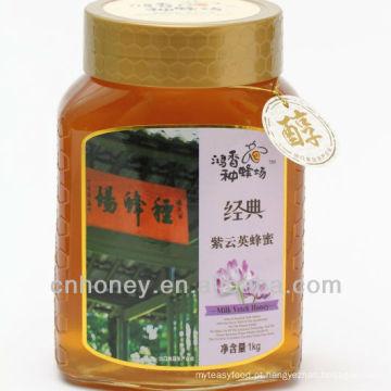 Mel de erva leiteira chinesa