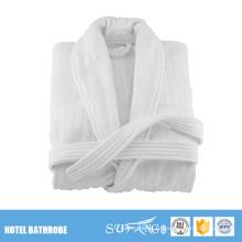 Peignoirs de bain en tissu éponge blanc extra long pour femmes
