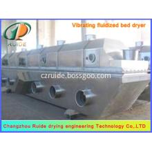 Vertical fluid bed dryer of boric acid