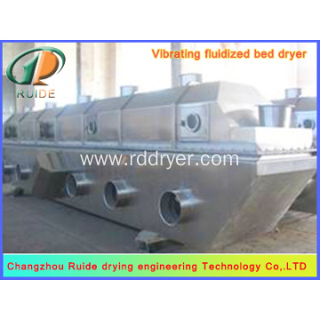 Vertical fluid bed dryer of boric acid