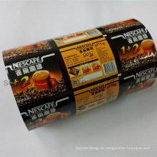 Kaffee Automatische Kunststoffverpackung Filmrolle
