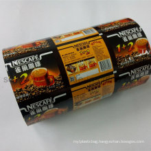 Coffee Automatic Plastic Packaging Film Roll