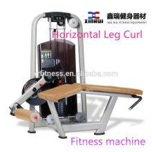 China fábrica de vendas diretas Horizontal Leg Curl Máquina / alta qualidade perna equipamentos de ginástica de exercício / grau equipamentos de ginástica