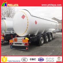Camion de réservoir de GPL de 3 axes 30000 litres pour le transport de gaz GPL