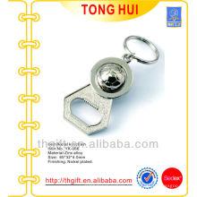 Ouvre-bouteille en métal porte-clés w ornement de football