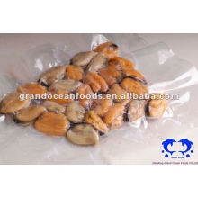 fresh frozen cooked mussel meat seafood