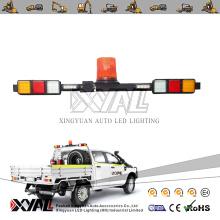 LED Mining Pickup Truck ATV Car 12 / 24 V Emergency Safety Warning Signal Strobe Rotating Flashing Waterproof Tail Lightbar