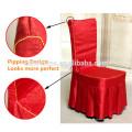 Alta qualidade Lavável Jacquard tecido Poliéster Restaurante cadeira cobre