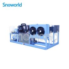 Bloco de gelo Snow World que faz o preço da máquina