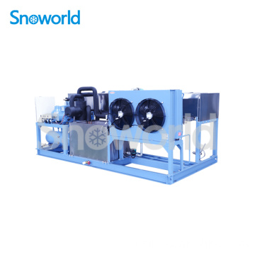 Snoworld Ice Block faisant le prix de la machine
