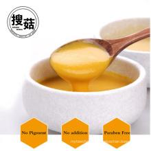 Sopa de crema de maíz de calabaza congelada de sabor delicioso y bajo en calorías