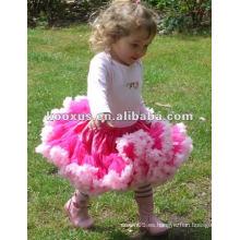 Muchacha pettiskirt / vestidos de las muchachas