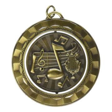 Perfecte bijwonen Spinner Medaille Met Linten