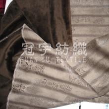 Bronzierendes Wildleder mit gebürstetem Rücken