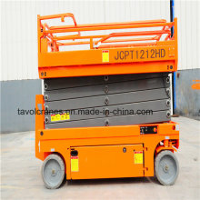 Zsjy Self Propelled Hydraulic Scissor Lift Table