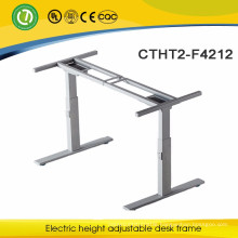 Executive office desk Adjustable height standing computer desk frame