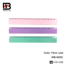 Opaque Color PS Stationery Ruler for Office and School Supply
