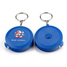Keychain Retractable Blue Tape Measure