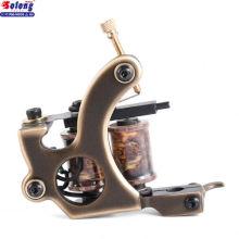 Solong M202-1 Nouveau En Gros En Laiton 8 enveloppes Bobine Machine De Tatouage Pour Liner Chine Profesional Charmant Tatouage Bobines Machine