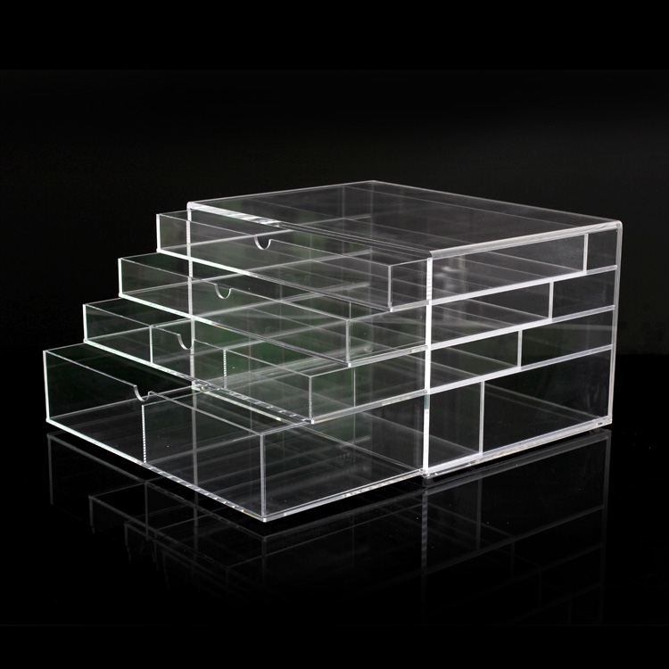 4 Drawer Acrylic Makeup Organizer