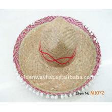 Рекламные дешевые мексиканские соломенные шляпы