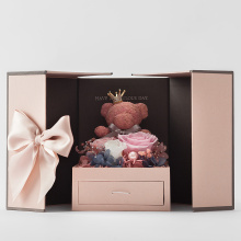 Luxury Valentine Sweet Preserved Flower Box