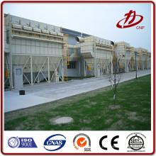Collecteur de poussière de l'usine de ciment Réservoir de gaz pulpeur collecteur de poussière