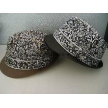 Custom Gentleman Fedora Hat, Sports Baseball Cap