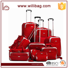 Custom Made Trolley Luggage Travelling Soft Suitcase Lugagge Set