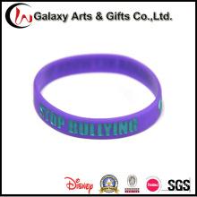 Wholesale Wristband Custom Logo Rubber Silicone Bracelets
