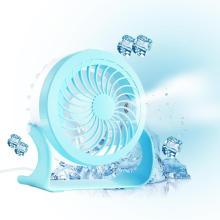Suporte elétrico Mini ventilador pequeno Temporizador de viagem