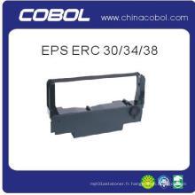 Ruban d'imprimante compatible pour Epson Erc 30/34/38