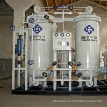 Purificador de Nitrógeno PSA de Acero Inoxidable a través de carburación