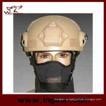 Mich 2001 Ach Militärhelm mit Nvg Mount & Seite Rail Action Version Paintball Helm