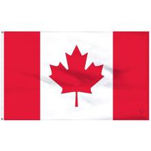 Europapokal Förderung Polyester Kanada Nationalflagge 3x5