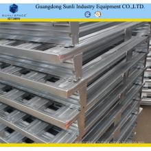 Palette industrielle empilable en métal galvanisée par 1200X1200
