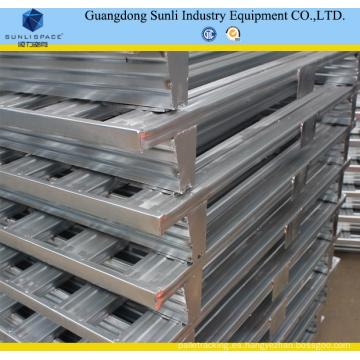 Plataforma de apilamiento de metal galvanizado industrial 1200X1200