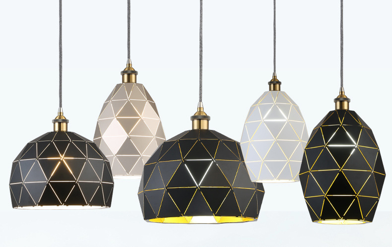 Other Shape Of Metal Pendant Light